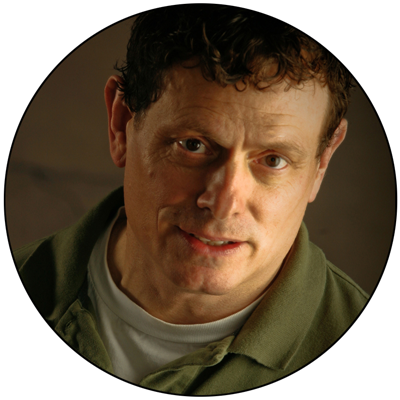 Studio lighting portrait of photographer Terry J Cyr